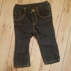 GAP Bottoms - Baby Gap 6-12 month girl's insulated Jean's